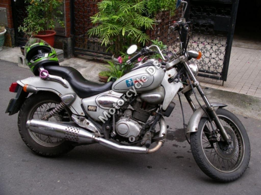 Kymco hipster photo - 10