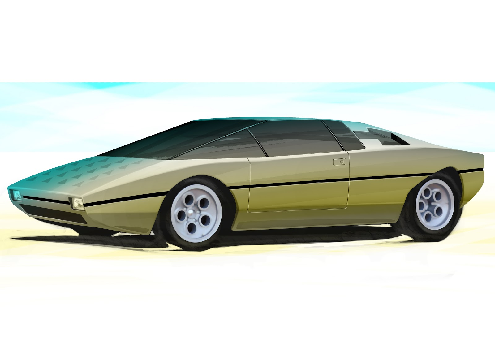 Lamborghini bravo photo - 3