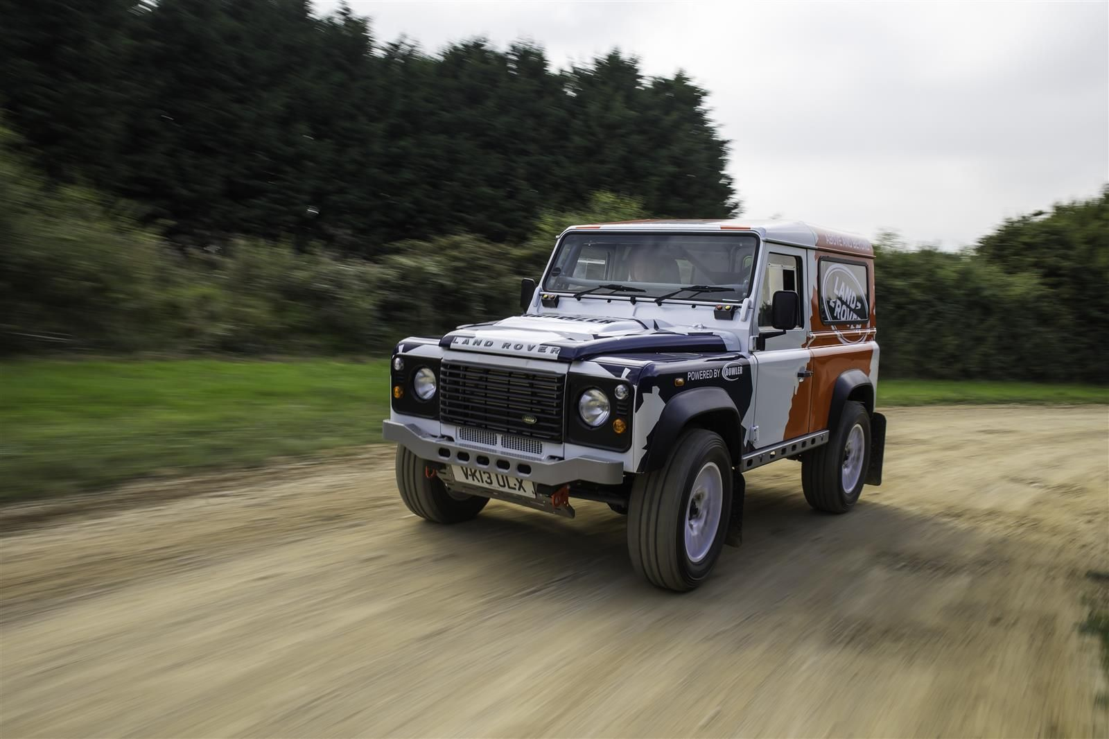 Land rover bowler photo - 10