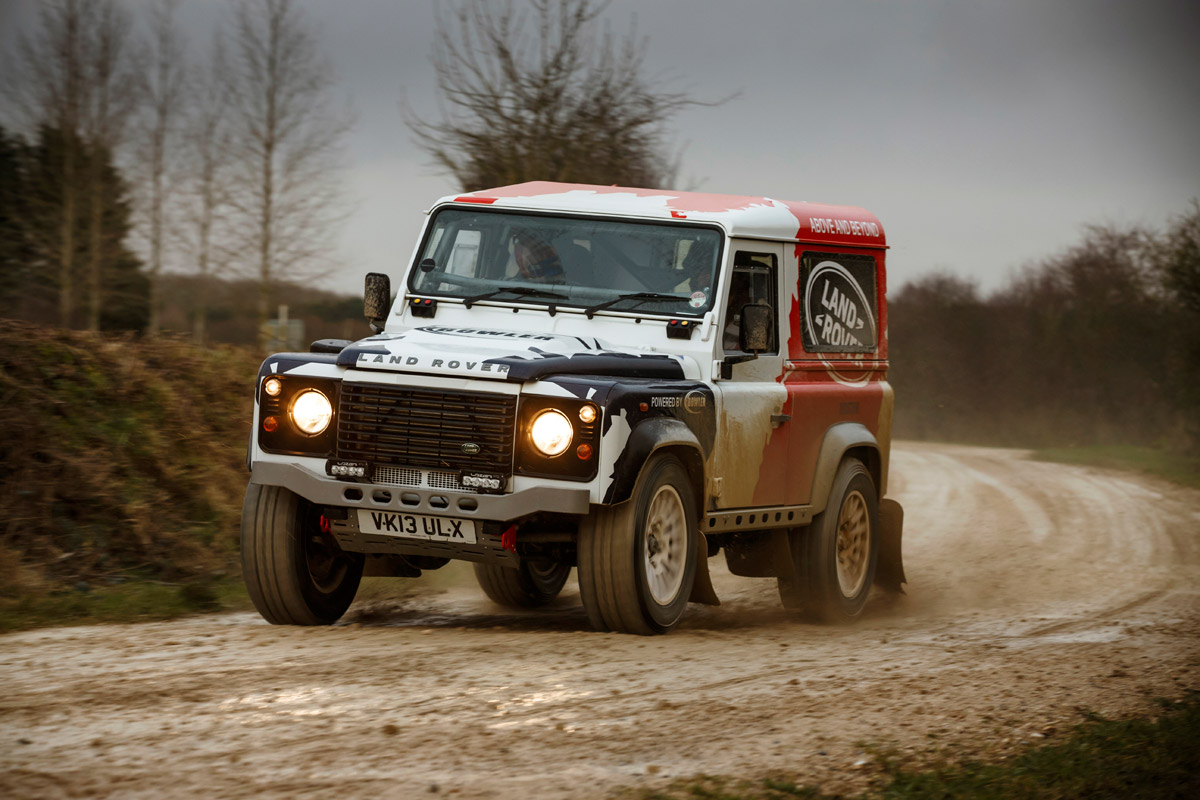Land rover bowler photo - 3
