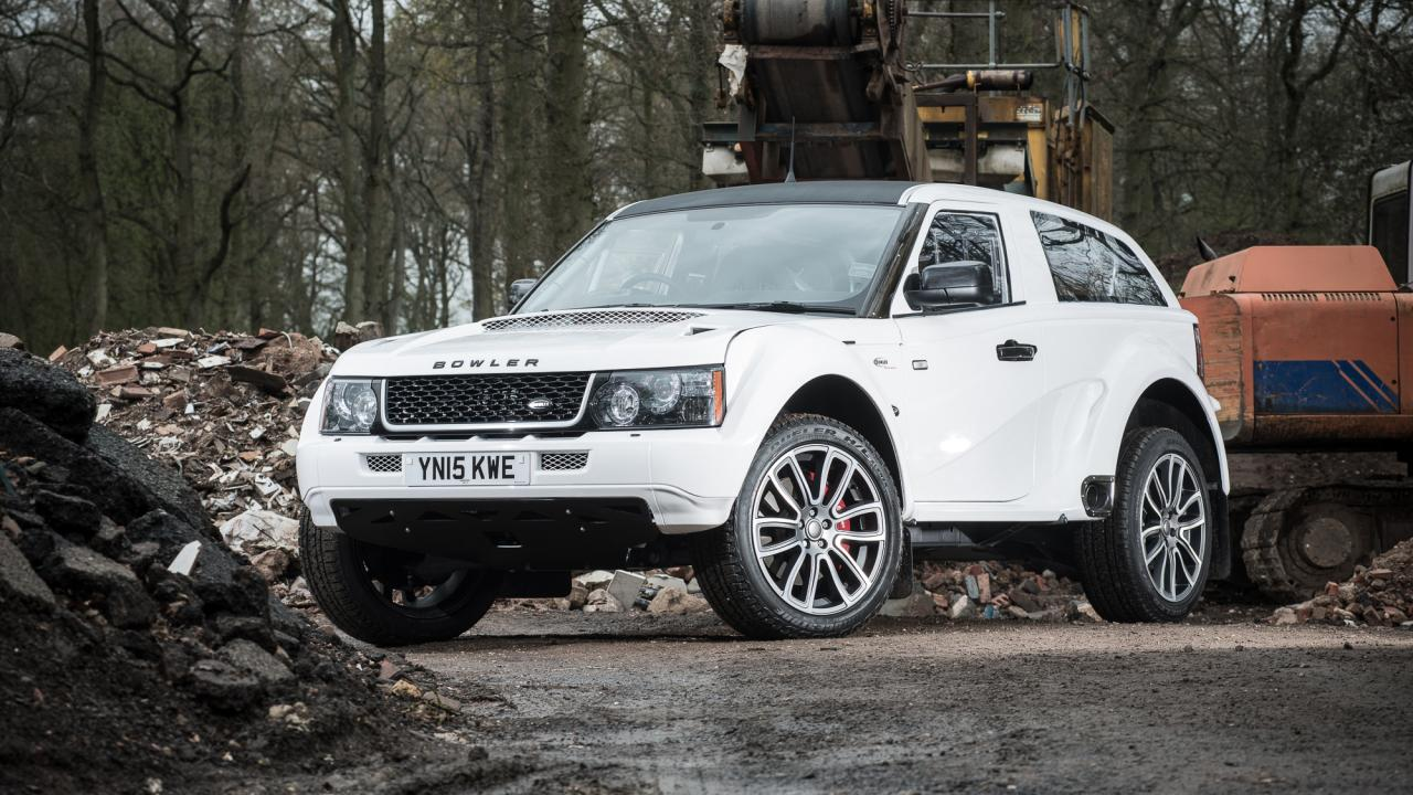 Land rover bowler photo - 5