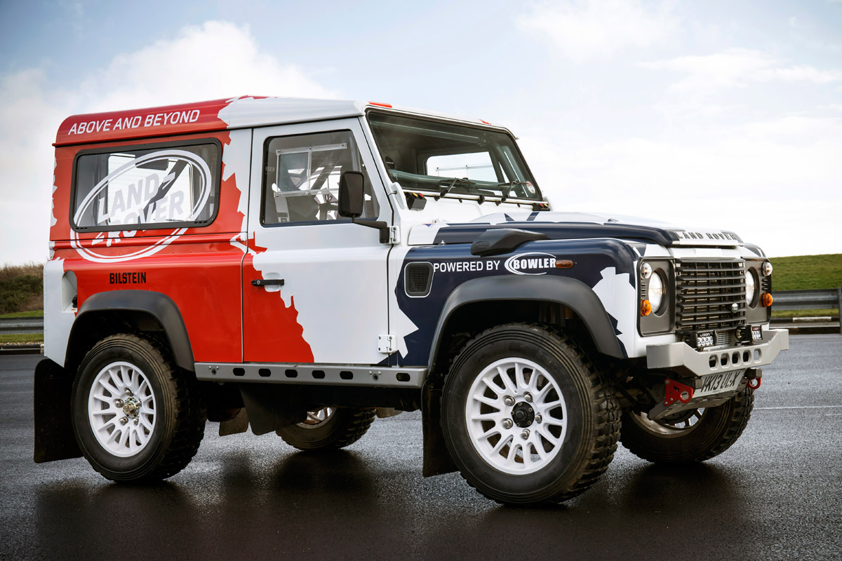 Land rover bowler photo - 7