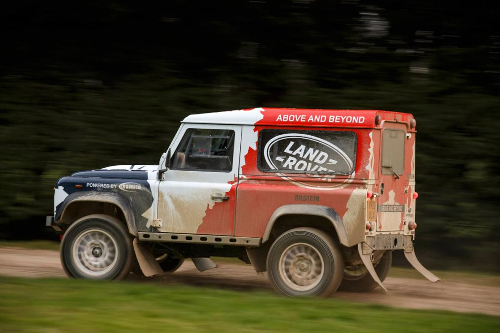 Land rover bowler photo - 9