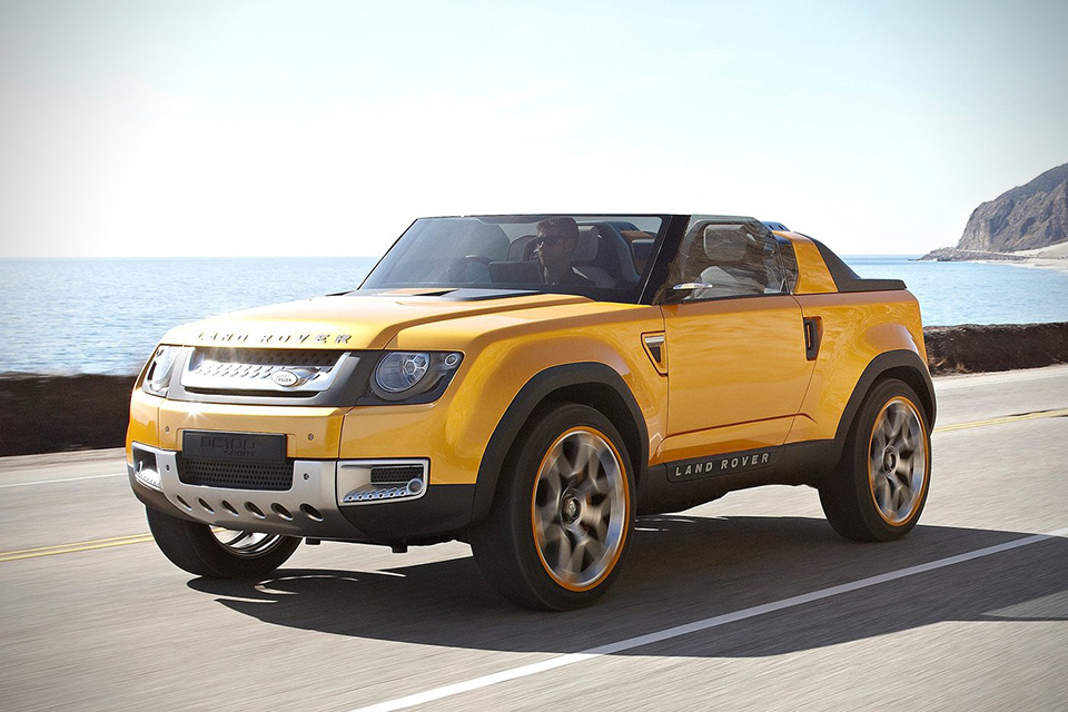 Land rover concept photo - 1