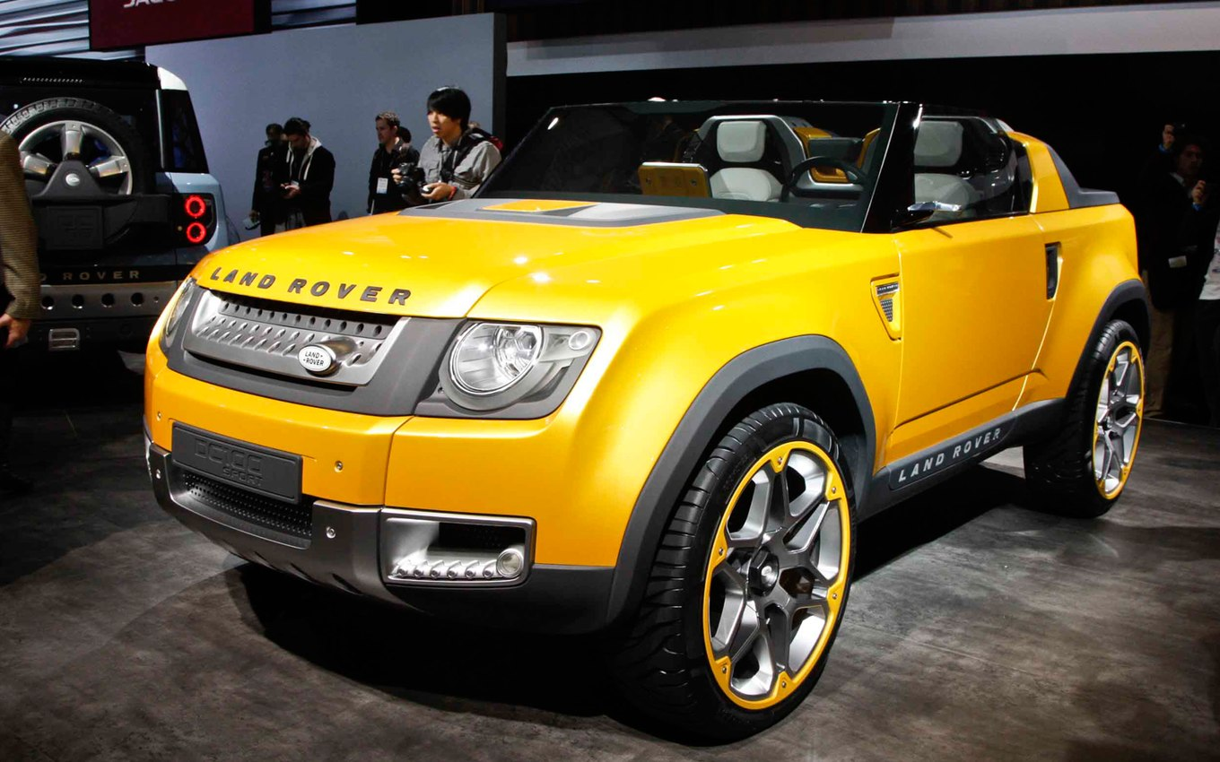 Land rover concept photo - 6