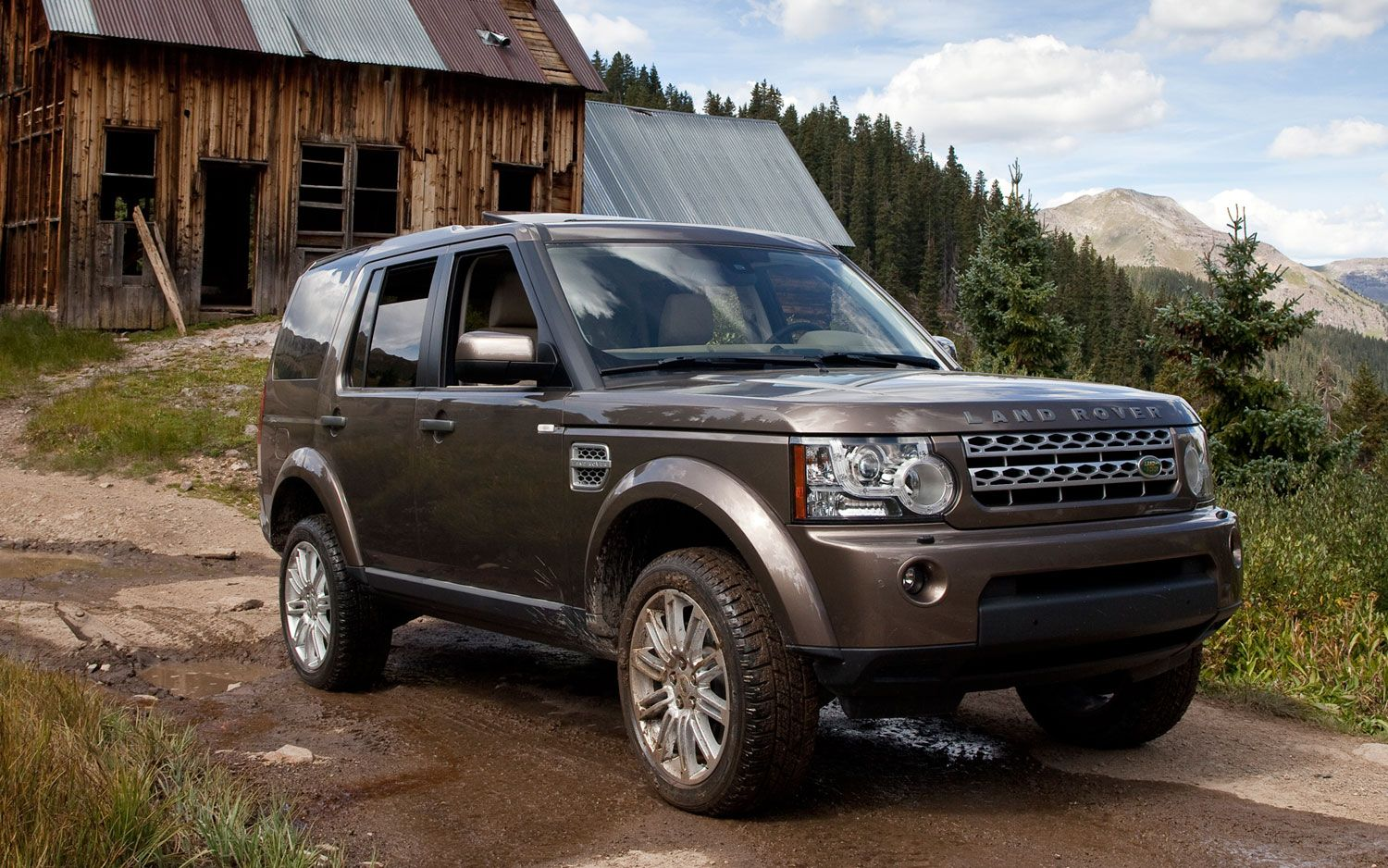 Land-rover lr4 photo - 5
