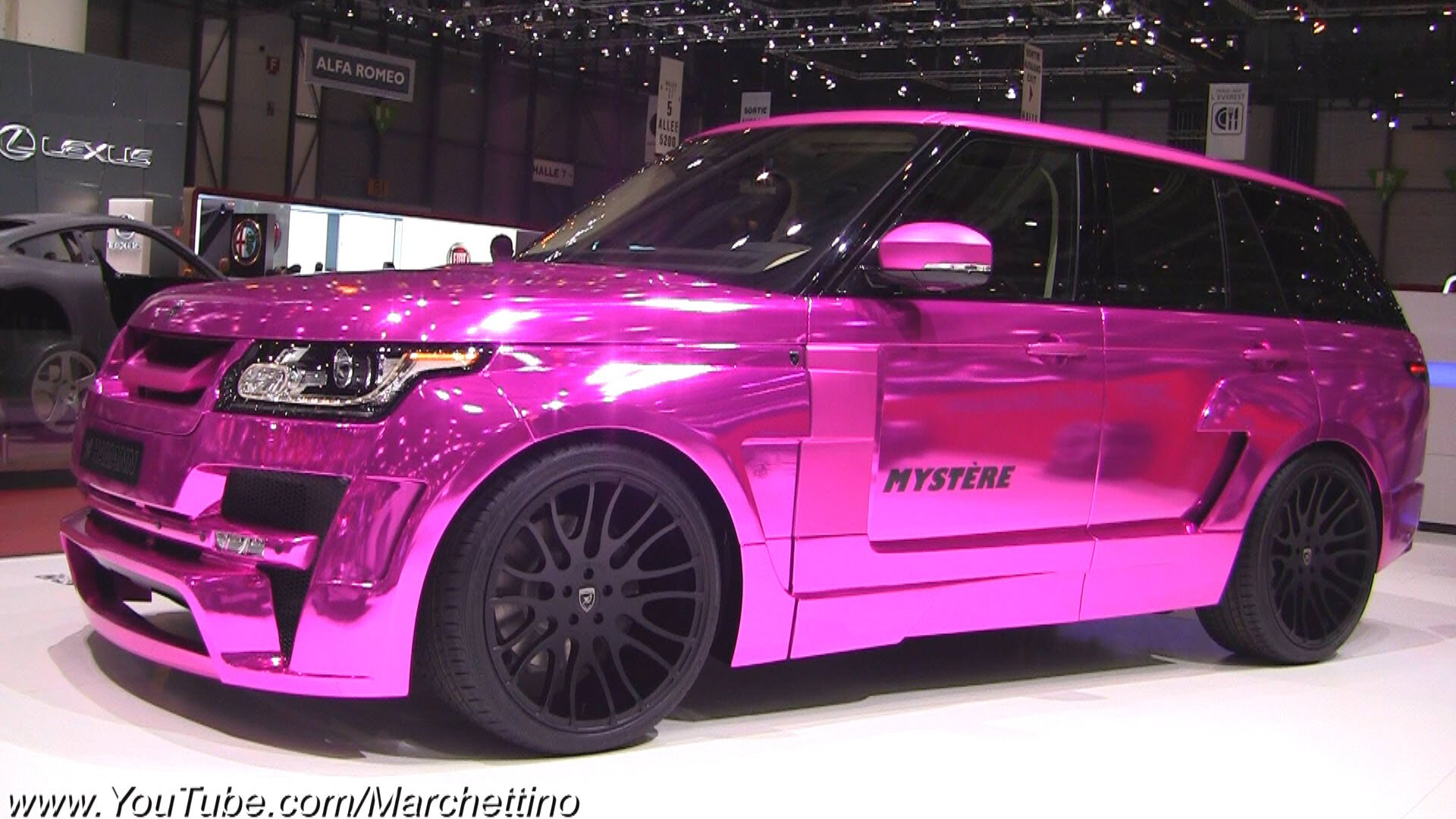 Land rover pink photo - 4