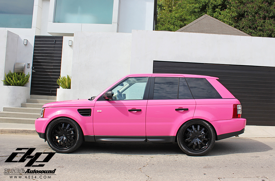 Land rover pink photo - 7