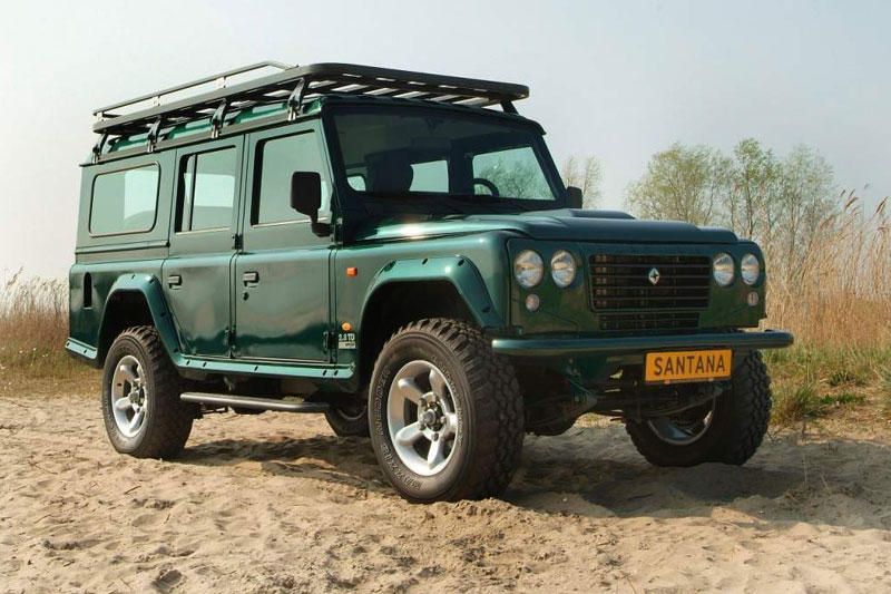 Land rover santana photo - 1