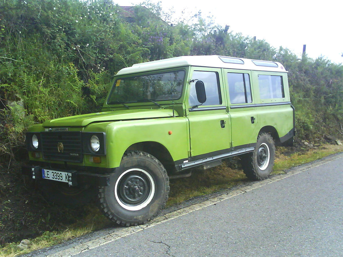 Land rover santana photo - 8