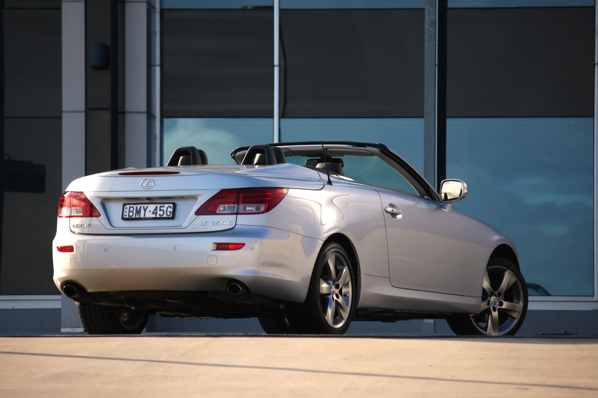 Lexus is250c photo - 6