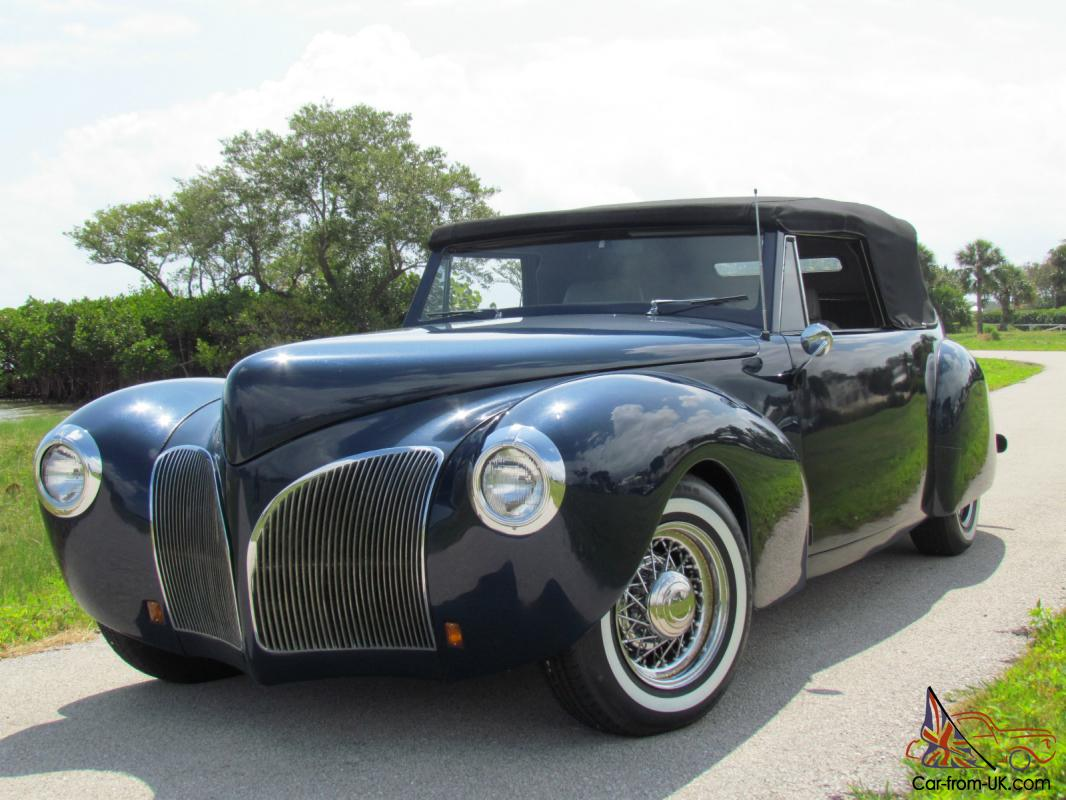 Lincoln cabriolet photo - 5