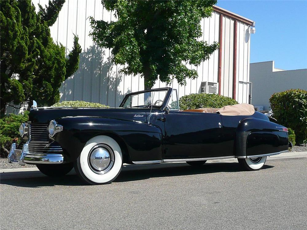 Lincoln cabriolet photo - 6