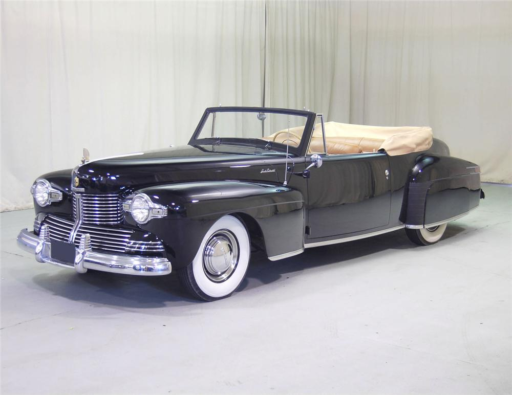 Lincoln cabriolet photo - 8