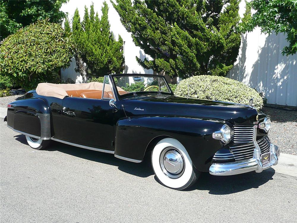 Lincoln cabriolet photo - 9