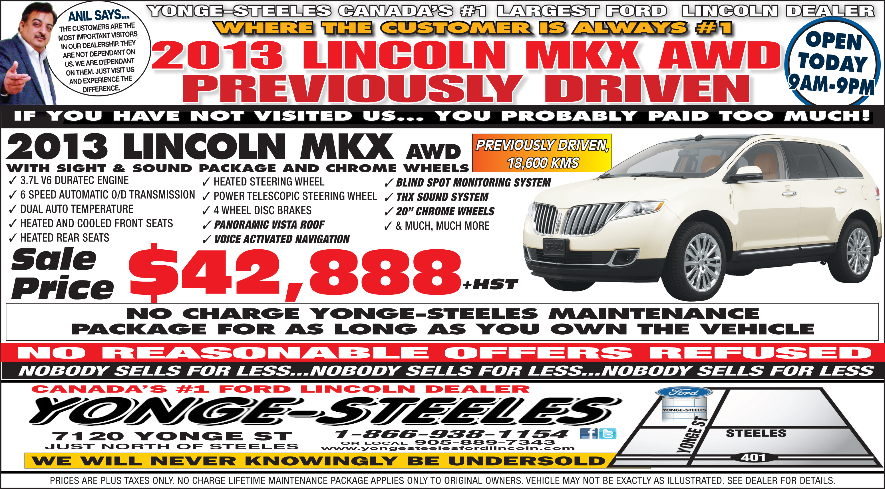 Lincoln special photo - 2