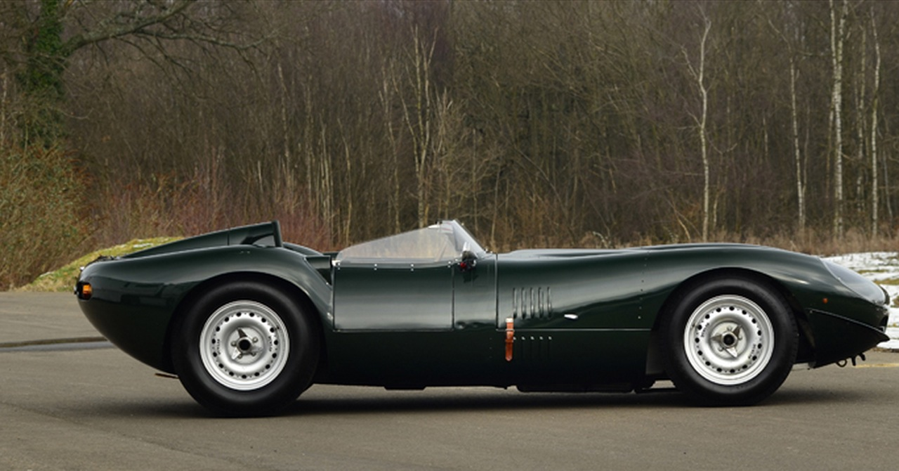 Lister jaguar photo - 2