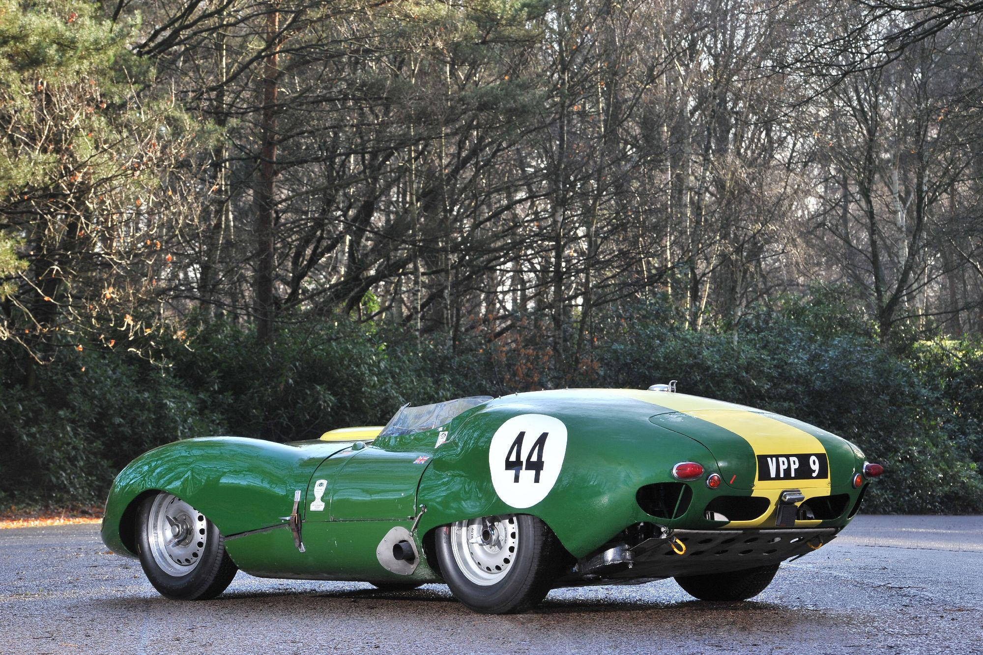 Lister jaguar photo - 5