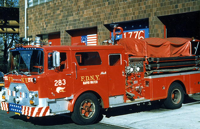 Mack pumper photo - 3