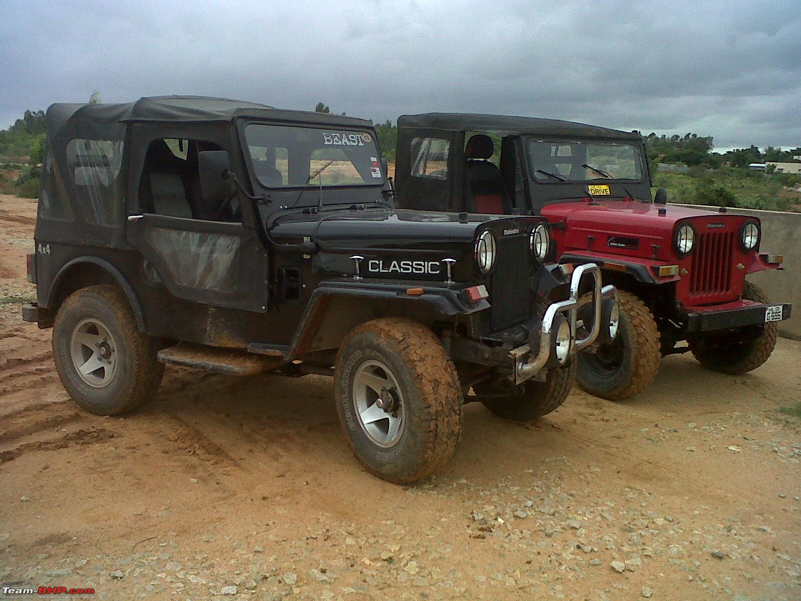 Mahindra 4x4 photo - 1