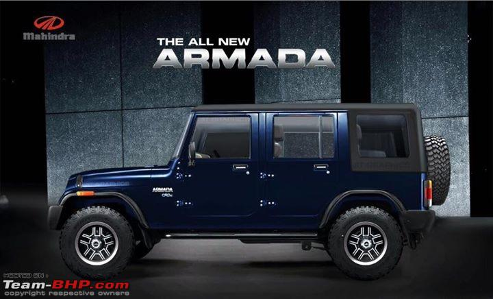 Mahindra armada photo - 1