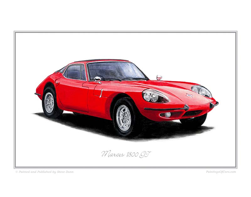 Marcos 1800gt photo - 8