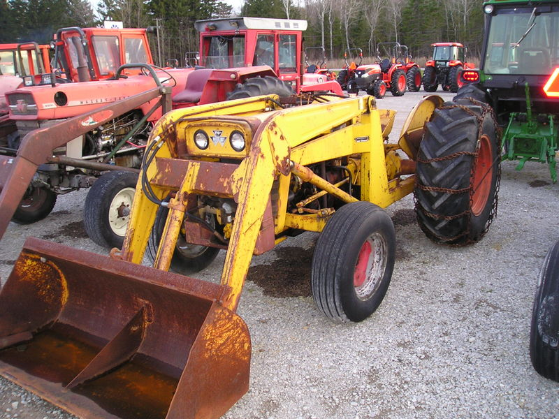 Massey ferguson 203 photo - 2