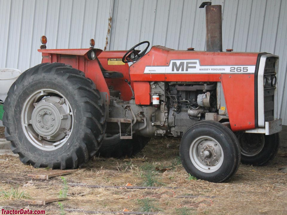 Massey ferguson 265 photo - 1