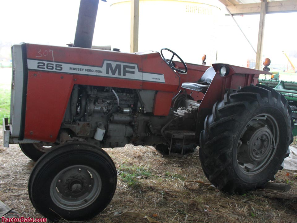 Massey ferguson 265 photo - 3