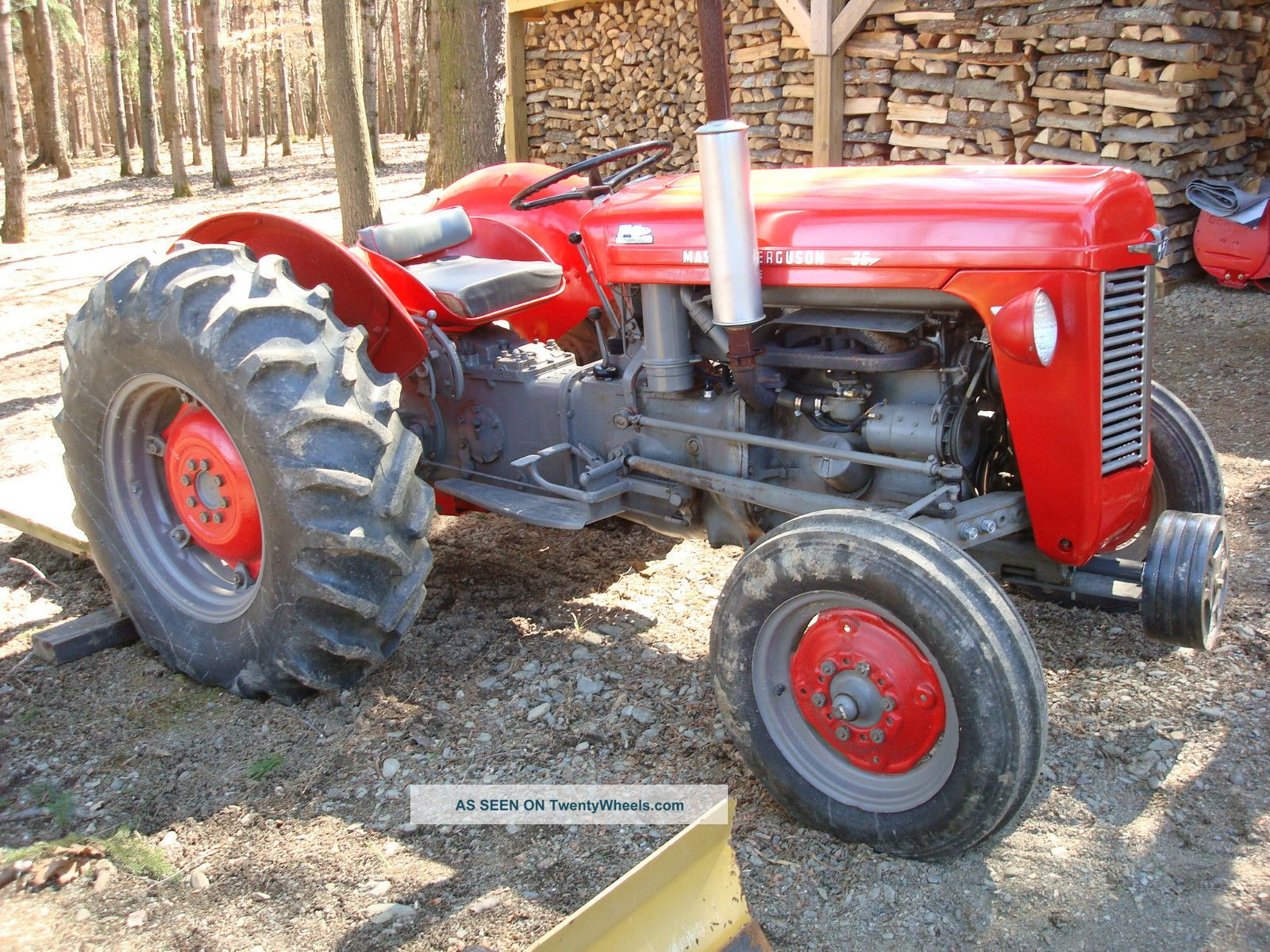 Massey ferguson 35x photo - 8