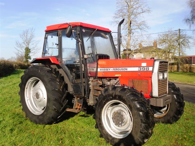 Massey ferguson 398 photo - 10