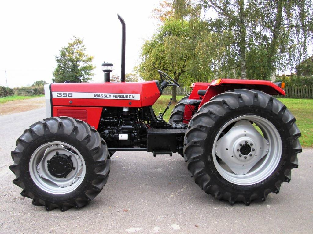 Massey ferguson 398 photo - 5