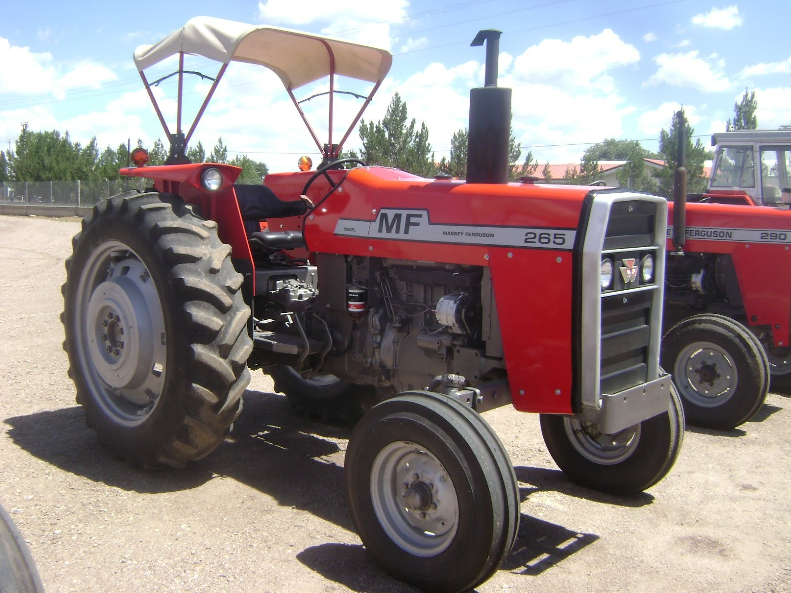 Massey ferguson 398 photo - 6