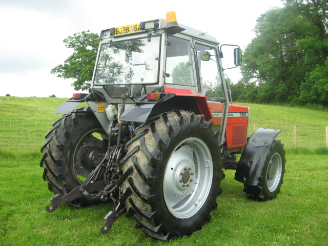 Massey ferguson 398 photo - 9