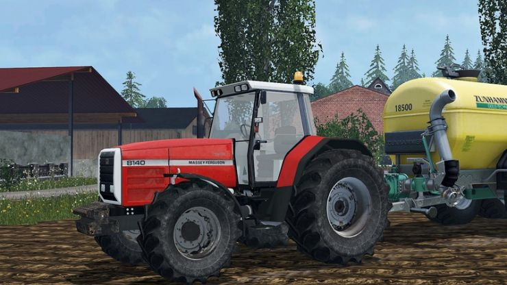 Massey ferguson 8140 photo - 6