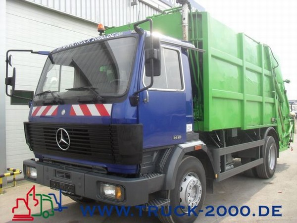 Mercedes-benz 1419 photo - 5