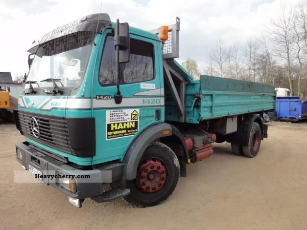Mercedes-benz 1420 photo - 8