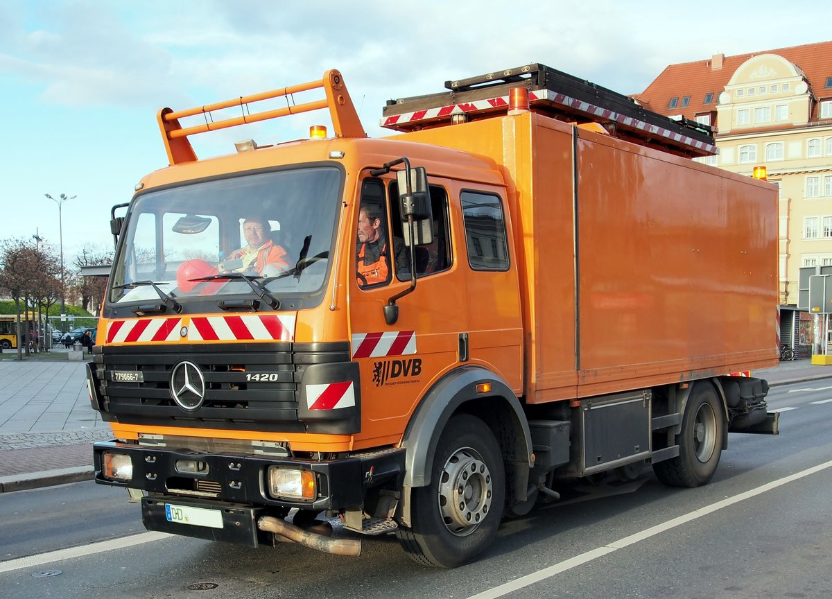 Mercedes-benz 1420 photo - 9