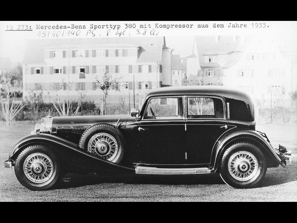 Mercedes-benz 1933 photo - 4