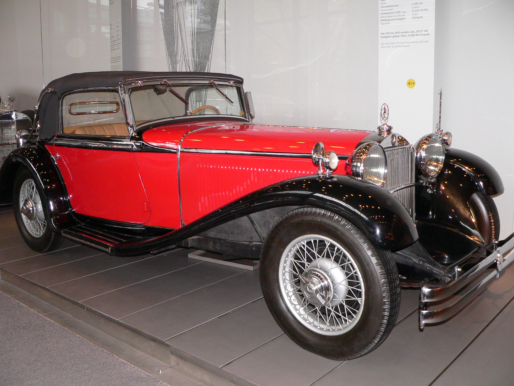 Mercedes-benz 1933 photo - 5