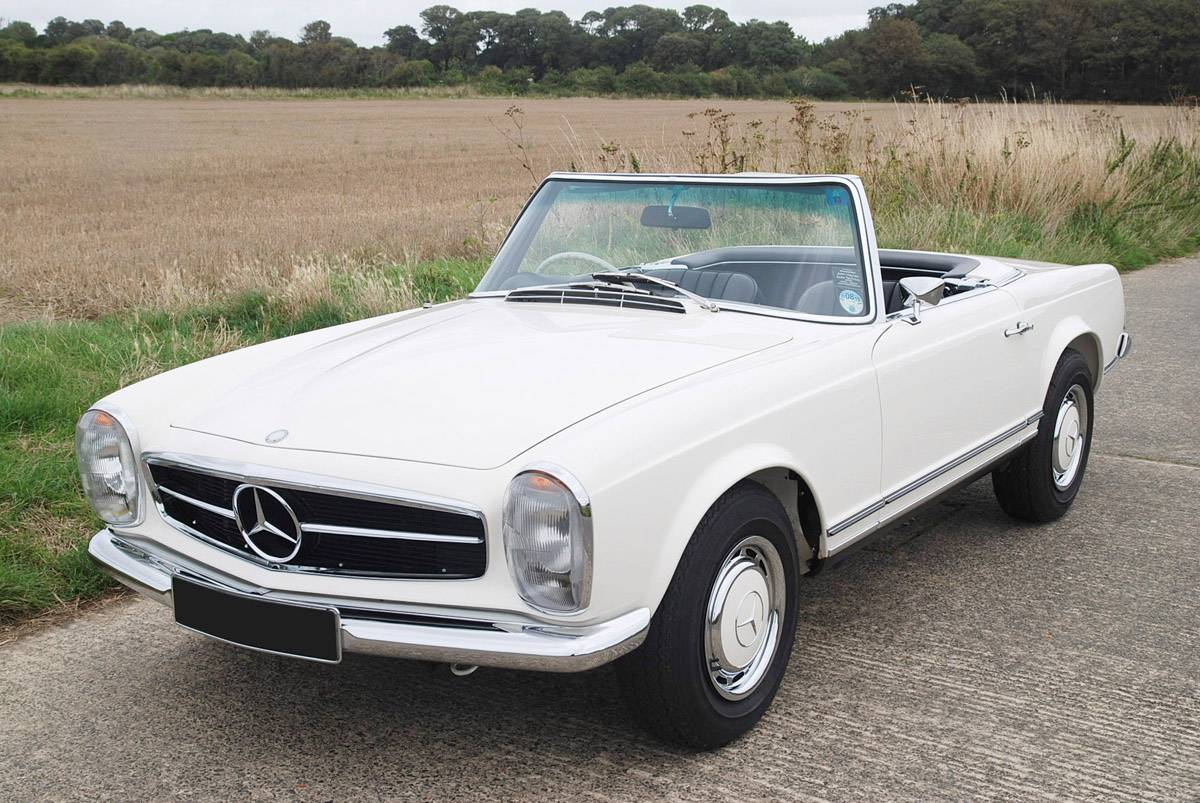 Mercedes-benz 250sl photo - 10