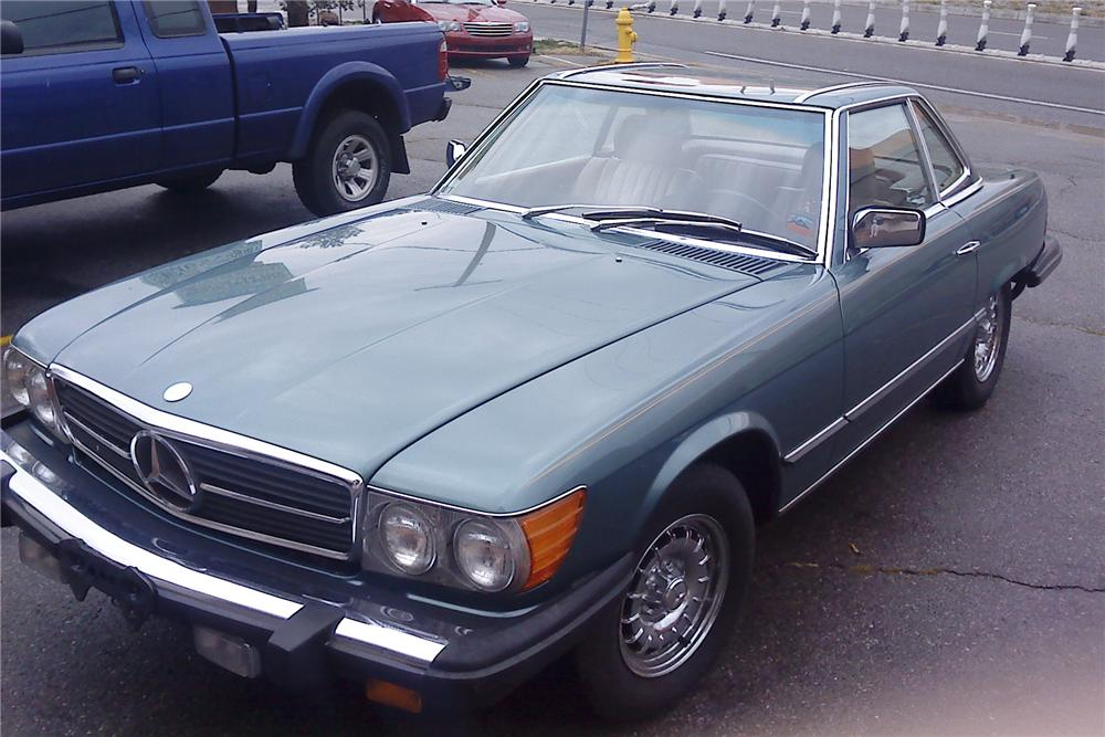 Mercedes-benz 380sl photo - 3