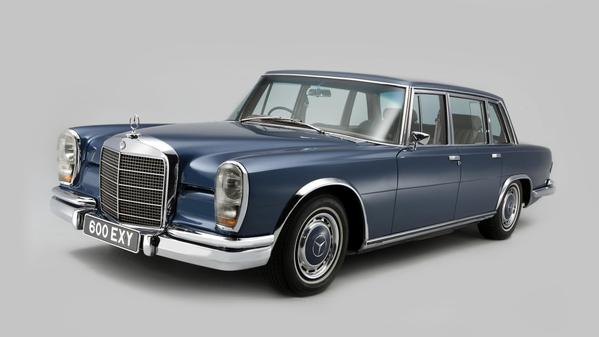Mercedes-benz 600 photo - 5