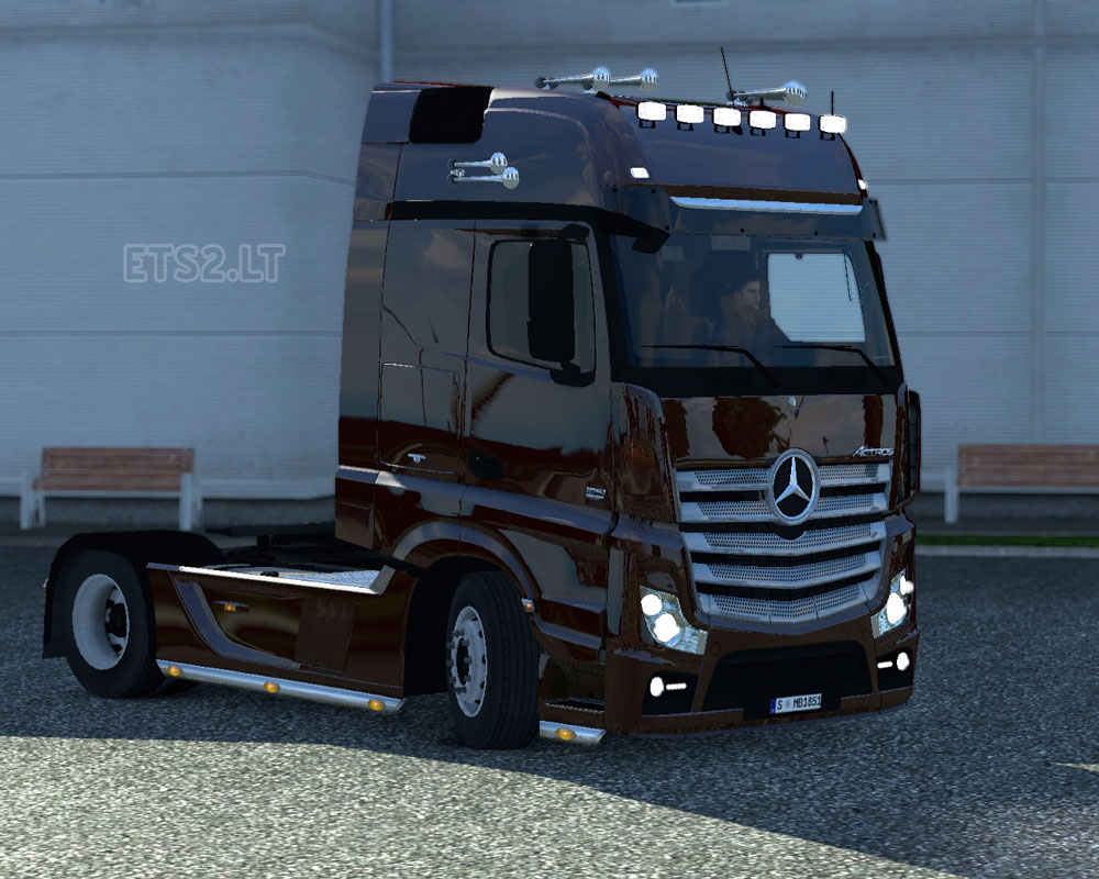 Mercedes-benz actros Photo and Video Review  Comments