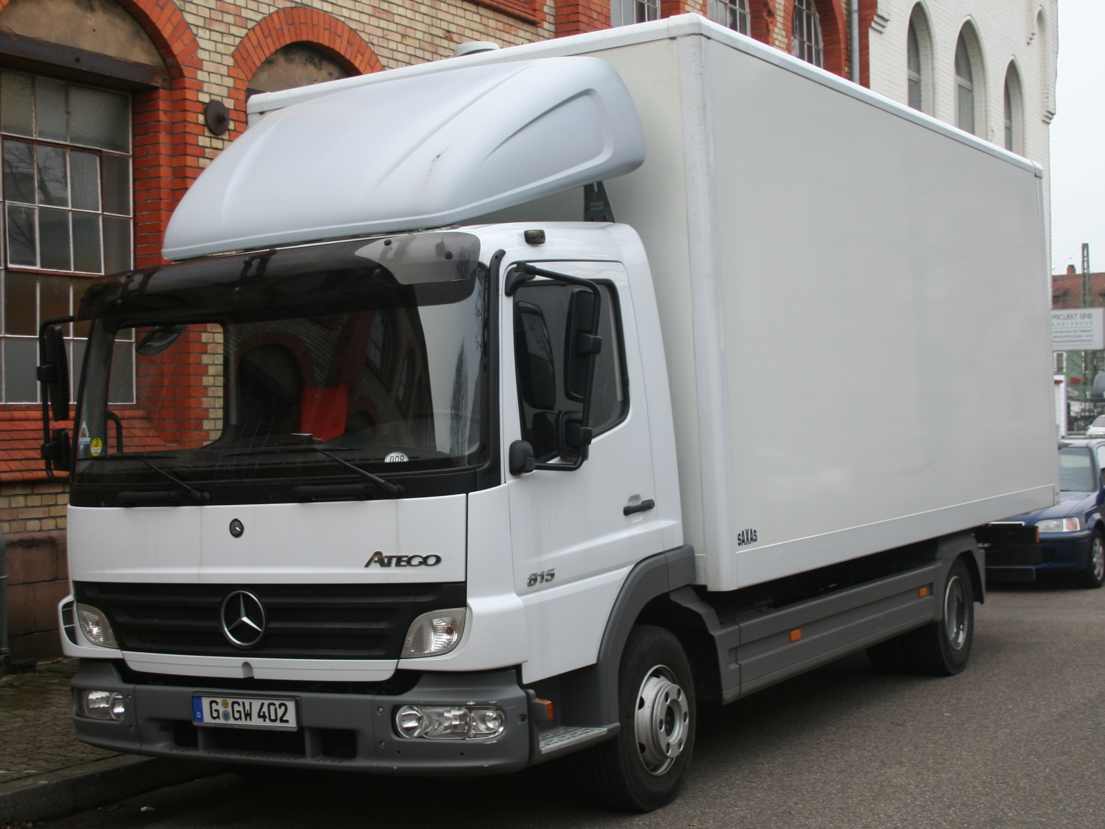 Mercedes-benz atego photo - 5