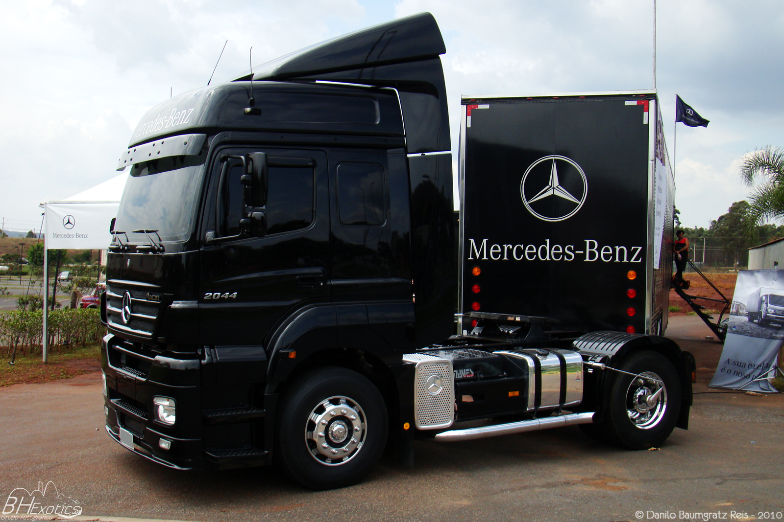Mercedes-benz axor photo - 4