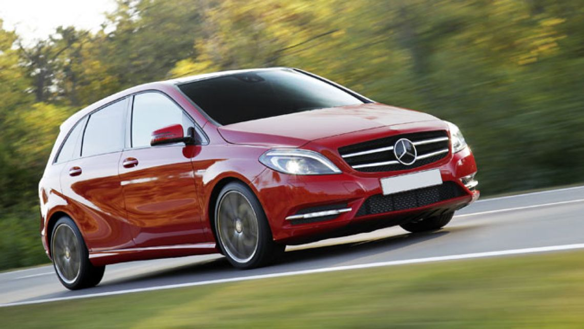 Mercedes-benz b180 photo - 4