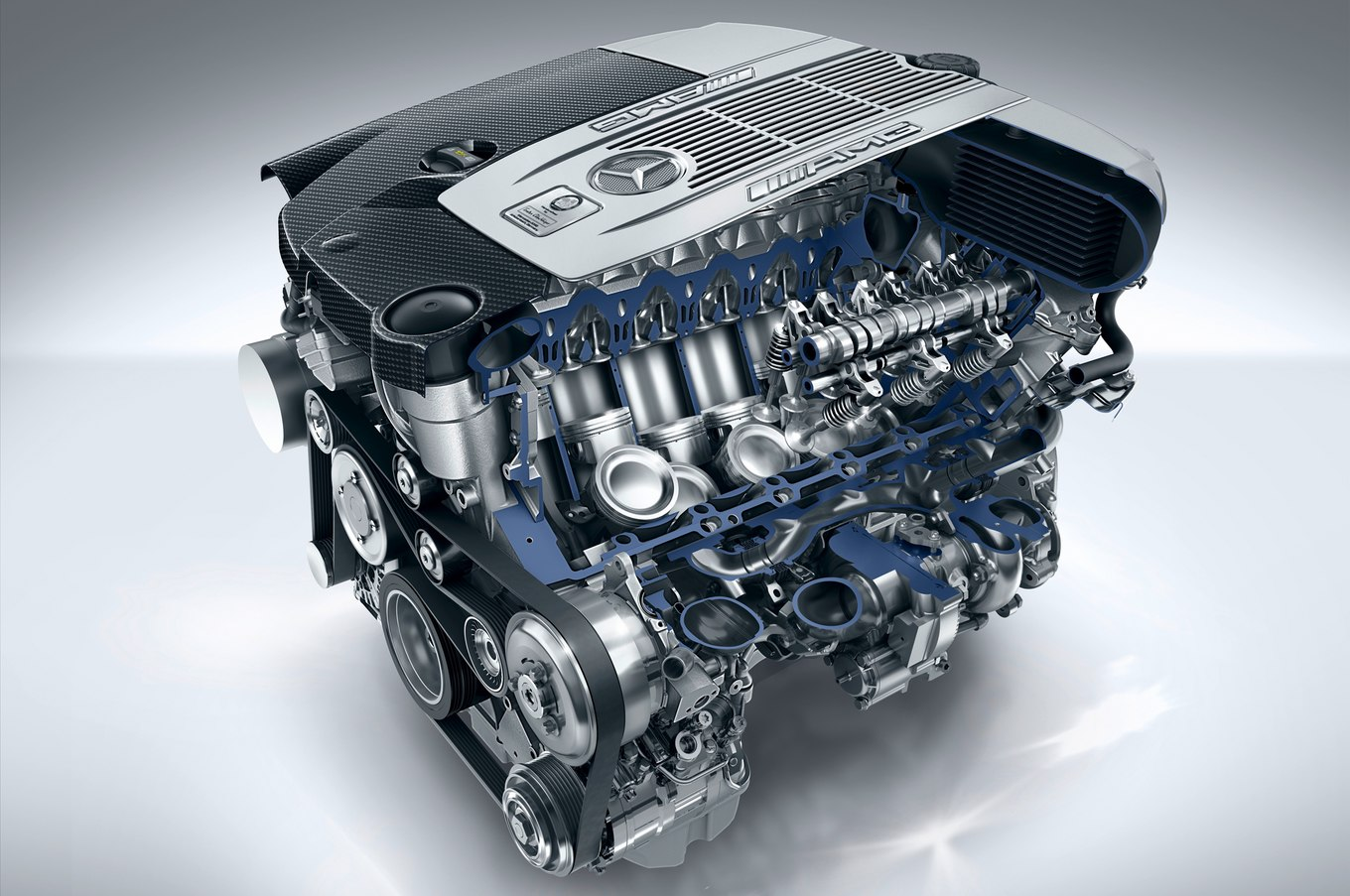 Mercedes-benz engine photo - 10
