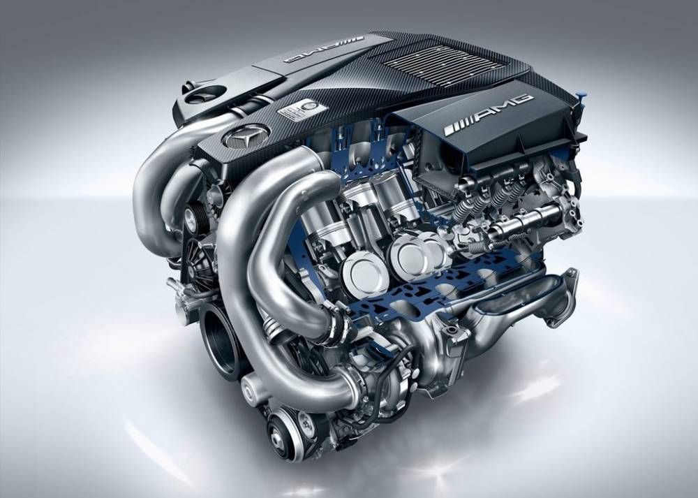 Mercedes-benz engine photo - 2
