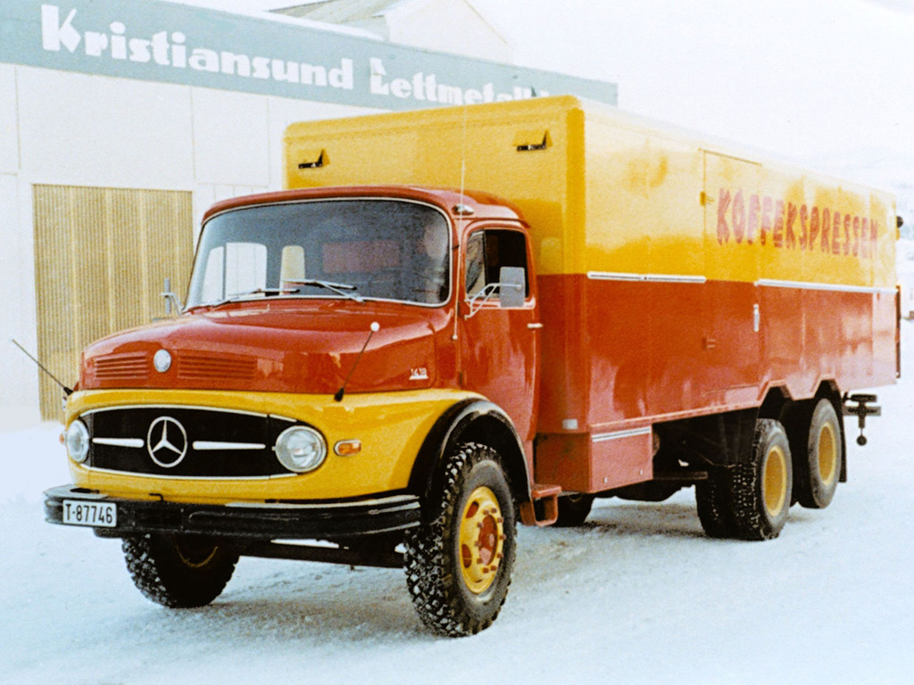Mercedes-benz l1418 photo - 3
